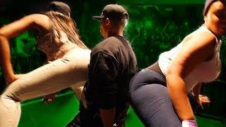 ASS Sandwich: Lucky Guy gets 2-Girl Lapdance