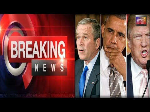 BREAKING: Trump HUMILIATES Bush and Obama after he learns the truth about their failed plans