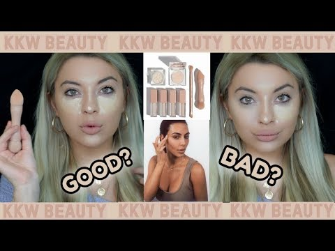 KKW BEAUTY CONCEALER KIT REVIEW 😍HOT? or NOT?😱 |Katalina Himona