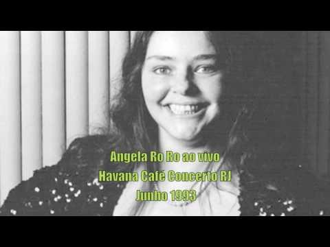 Angela Ro Ro ao vivo no Havana Café Concerto RJ Junho de 1993