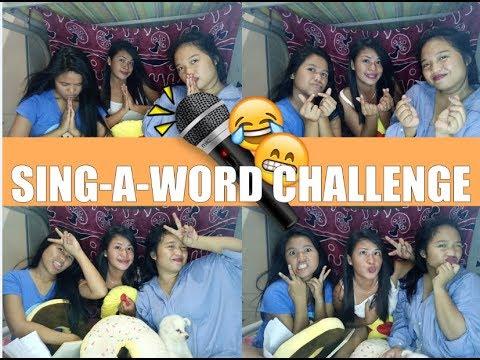 SING-A-WORD CHALLENGE | EJCB ♡