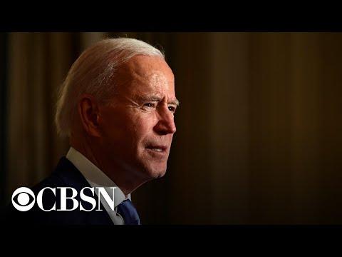 Biden speaks to National Institutes of Health staff
