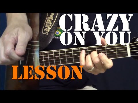 Crazy On You Acoustic Guitar Lesson
