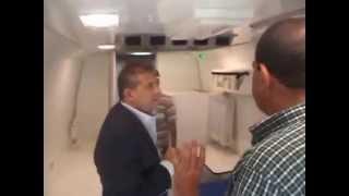 New Suez Canal, Egypt: Taher Abu Zeid visit canal