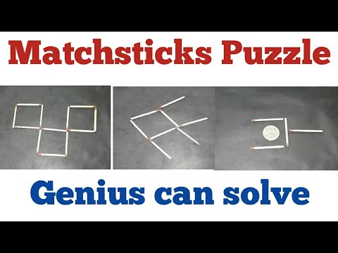5 Matchsticks Puzzle Genius Can Solve | 2 Experiments For Kids| Lanka Tech Channel