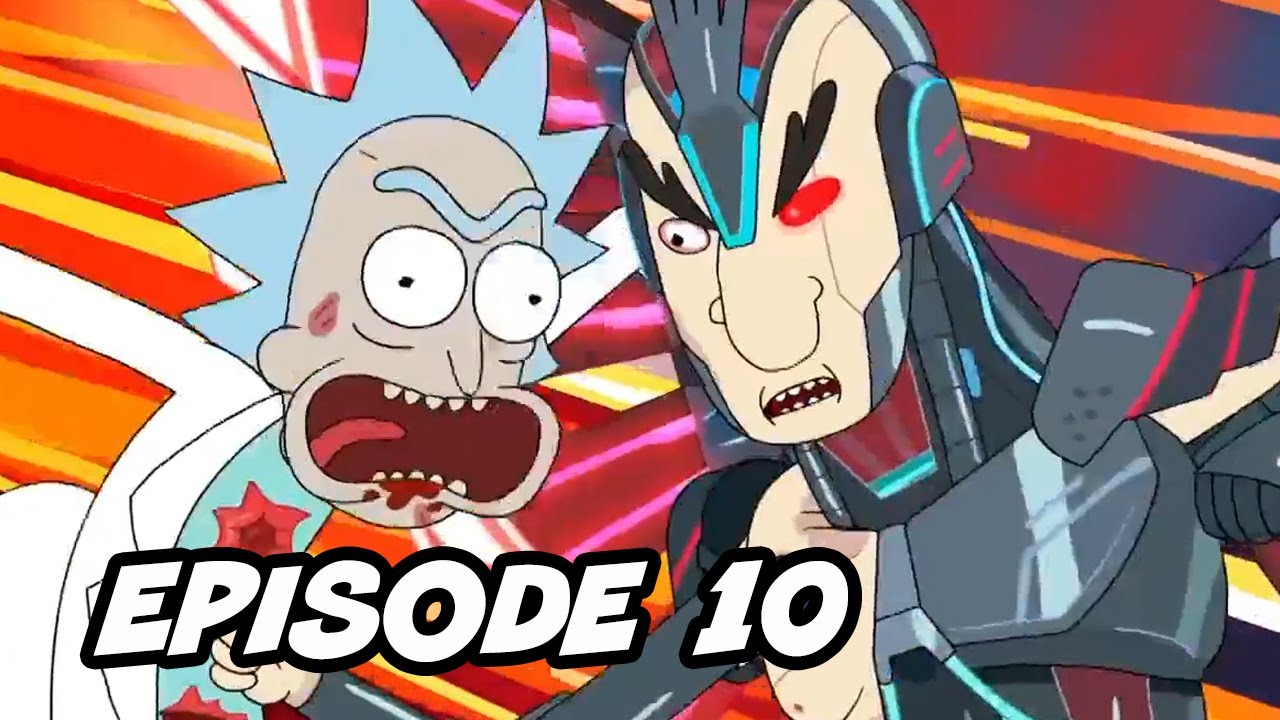 Download Rick and Morty Season 4 Episode 10 Finale - TOP 10 WTF and Easter Eggs