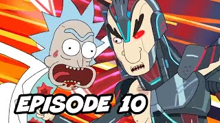 Rick and Morty Season 4 Episode 10 Finale - TOP 10 WTF and Easter Eggs