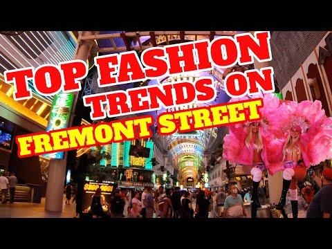 Las Vegas Fremont Street Fashion 2021