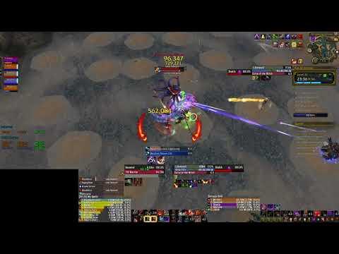 EoA+22 - Teeming, Explosive, Fortified (7.3.2) Fury Warrior PoV