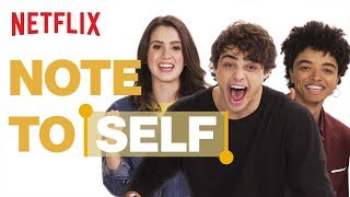 Noah Centineo + The Perfect Date Cast Share What's In Their Phones | Note To Self | Netflix