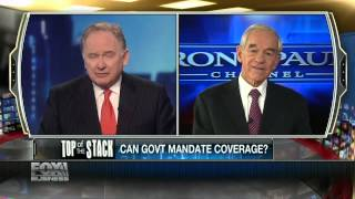 Ron Paul: Obamacare 'A Conspiracy Of Stupidity'