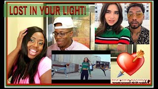 Dua Lipa - Lost In Your Light feat. Miguel (Official Video) |BEECHER DYNASTY REACTS