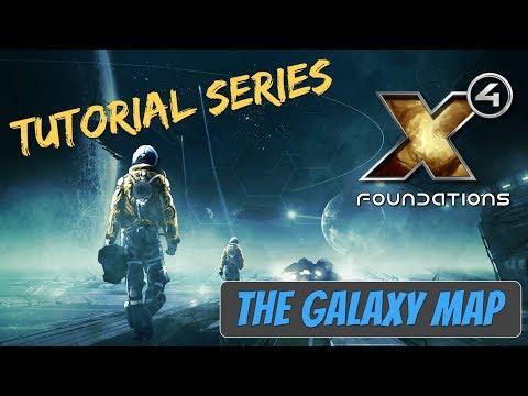 X4 Foundations Tutorials | The Galaxy Map