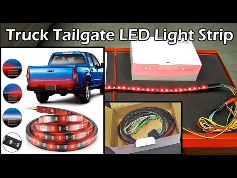 Truck Tailgate LED Light Bar Review - 60 inches