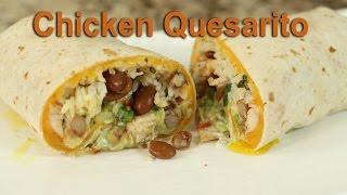 Chicken Quesarito With Cilantro Lime Rice by Rockin Robin