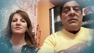 Новогодишно пожелание от Младен Малаков и Надя Петрова