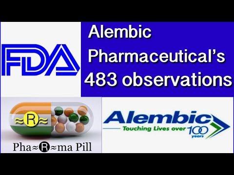3 : Alembic Pharmaceutical's 483 Panelav Gujarat  March 2018
