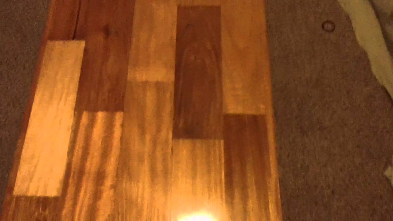 Brazilian Cherry Jatoba Wood Coffee Table Part 1 Youtube