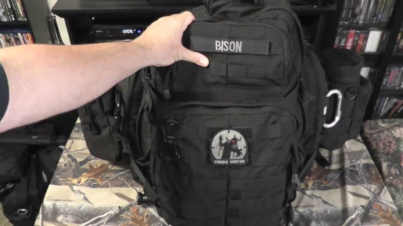 5 11 Tactical Rush 72 Bug Out Bag Part 1