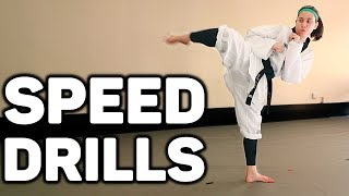 Speed Conditioning Drills | Faster Kicks & Footwork