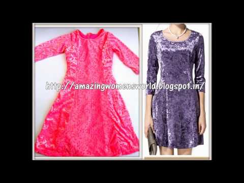 HOW TO MAKE PRINCESS CUT ALINE BABY DRESS - BABY FROCK VELVET-STEP BY STEP EASY PROCESS - DIY