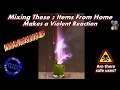 watch he video of Dangerous Reaction Mixing Household Products - Chemical Reaction Warning