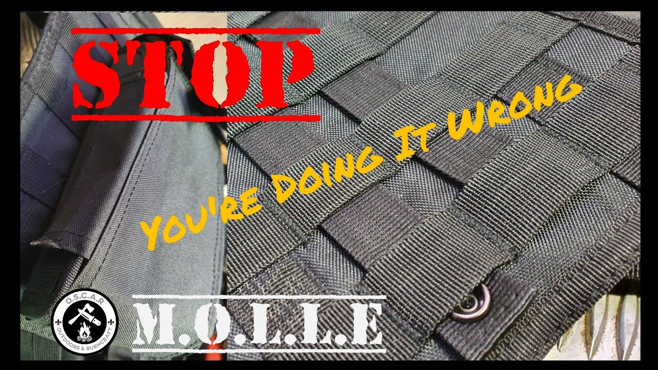 Download I Was Doing It Wrong   Correct way to utilise MOLLE and Pals Systems