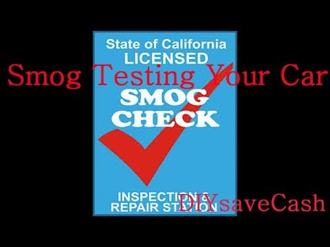 Smog Test Your Car - What To Know Before You Go