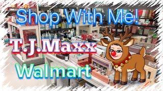 Shop With Me! | T.J. Maxx | Walmart | December 9, 2018