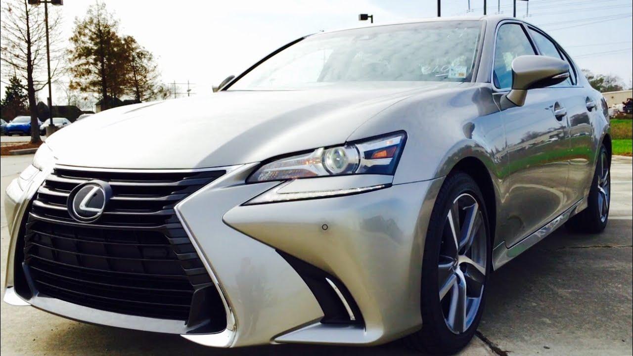 2016 Lexus Gs 350 Full Review Start Up Exhaust Short Drive