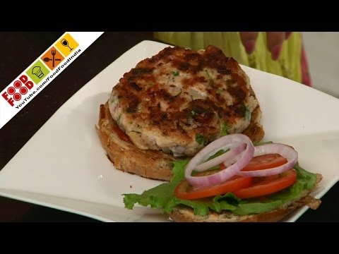 Healthy Chicken Burger | Food Food India - Fat To Fit | Healthy Recipes