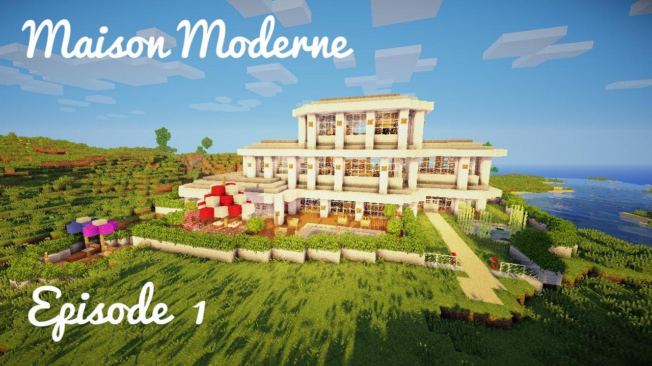 Construction d 39 une maison moderne ep 01 rez de for Construction de maison moderne
