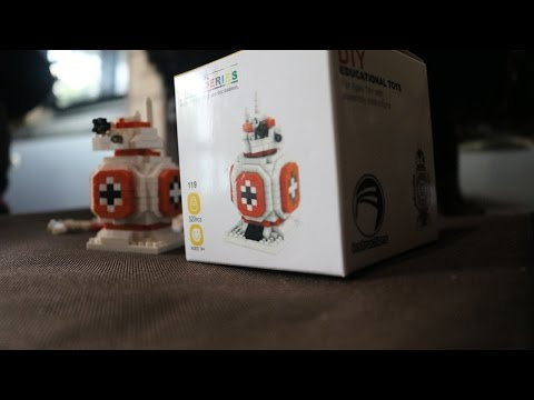Building BB8 micro size building blocks (mini lego)