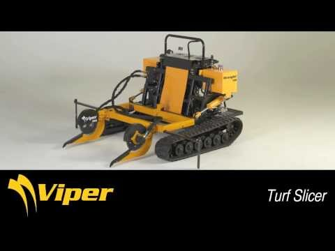 Synthetic Turf Removal Equipment By TRS - Viper Turf Slicer