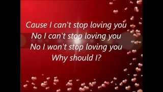 Can't stop loving you - Phil Collins