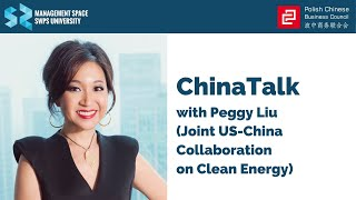 ChinaTalk with Peggy Liu (Joint US-China Collaboration on Clean Energy)
