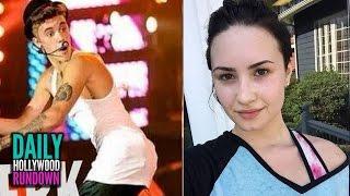 Justin Bieber TWERKS & Flirts With Elderly Lady - Demi Lovato Hospitalization DETAILS (DHR)