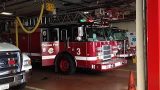 Chicago Fire Dept Engine 42 & Truck 3