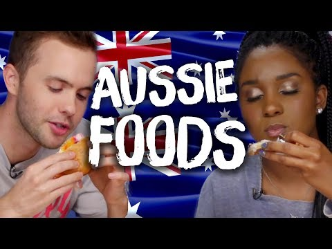 Trying AUSTRALIAN Foods For The First Time!?! (Cheat Day)