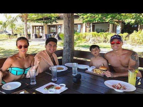 Meet the beautiful family of Aubrey Miles & Troy Montero! Sobrang family goal!