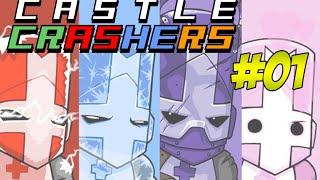 Castle Crashers #01 - ARRASANDO NA IDADE MÉDIA ft. GuilhermeOss e Pudell thumbnail