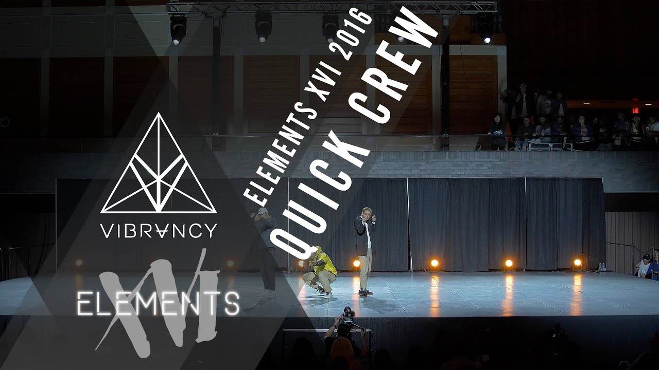 c3e90aa39 Quick Crew | Elements XVI 2016 [Official @VIBRVNCY 4K] @thequickstyle  #elementsxvi