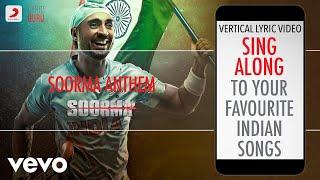 Soorma Anthem - Soorma Official Bollywood Lyrics Shankar Mahadevan