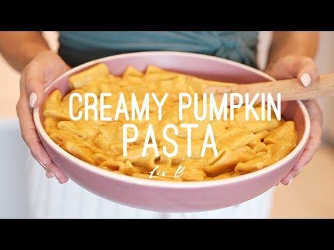 Creamy Pumpkin Pasta | Vegan + Gluten-Free