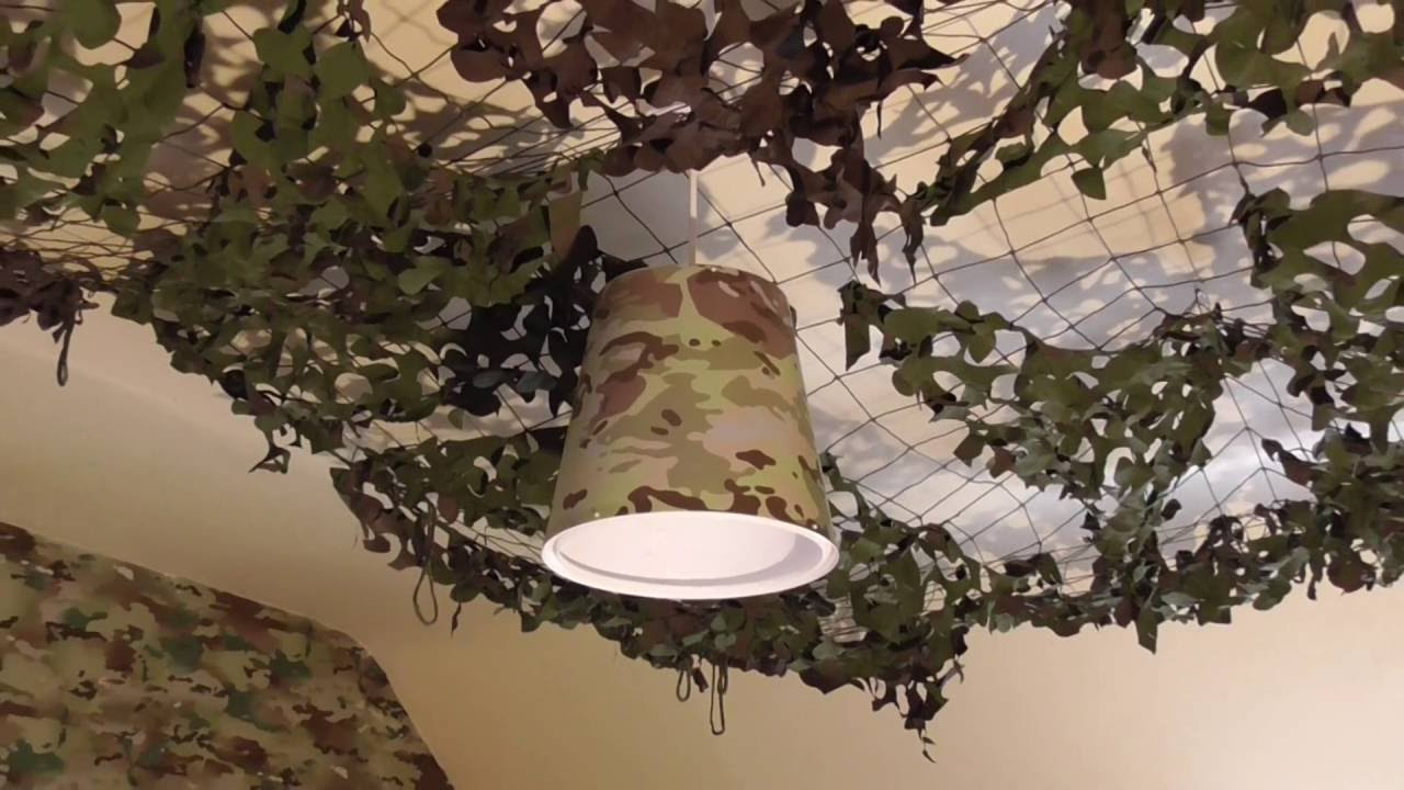 Army Camouflage Light Shade In Multi Terrain Camo Pattern