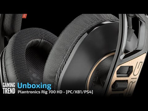 Plantronics Rig 700 HD Wireless Headset Unboxing - PC/PS4/XB1 [Gaming Trend]