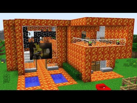 ISMETRG'NİN EVİ LAVA DÖNÜŞTÜ! 😱 - Minecraft