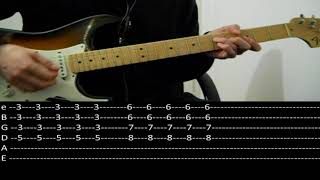 RHCP - Save the population (lesson w/ tab)