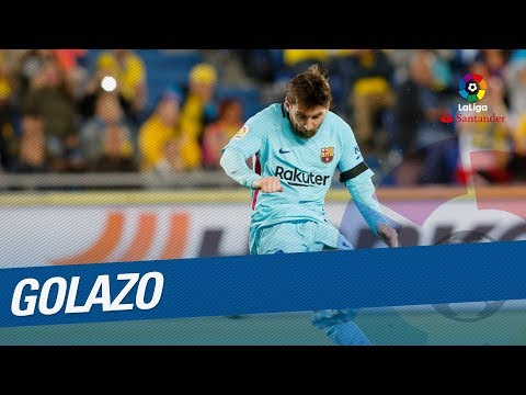 Golazo de Messi (0-1) UD Las Palmas vs FC Barcelona