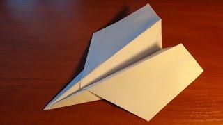 Как сделать классный самолетик из бумаги